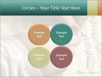 The hand writes musical PowerPoint Template - Slide 38