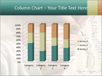 The hand writes musical PowerPoint Template - Slide 50
