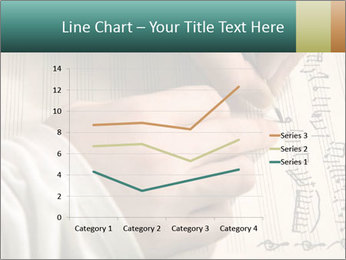 The hand writes musical PowerPoint Template - Slide 54
