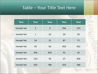 The hand writes musical PowerPoint Template - Slide 55
