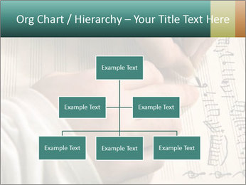 The hand writes musical PowerPoint Template - Slide 66