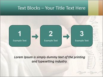 The hand writes musical PowerPoint Template - Slide 71