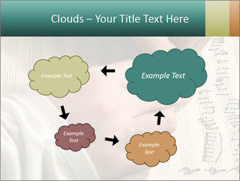 The hand writes musical PowerPoint Template - Slide 72