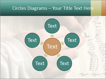 The hand writes musical PowerPoint Template - Slide 78