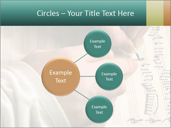 The hand writes musical PowerPoint Template - Slide 79