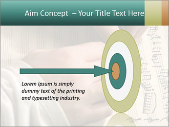 The hand writes musical PowerPoint Template - Slide 83