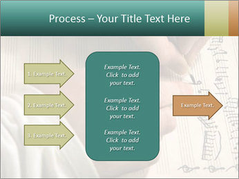 The hand writes musical PowerPoint Template - Slide 85