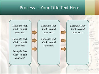 The hand writes musical PowerPoint Template - Slide 86