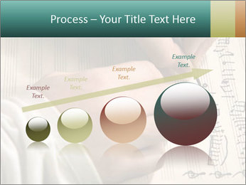 The hand writes musical PowerPoint Template - Slide 87