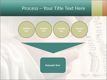 The hand writes musical PowerPoint Template - Slide 93
