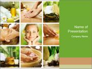Spa Collage PowerPoint Templates