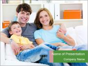 Beautiful family PowerPoint Templates