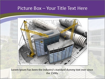 Big modern building PowerPoint Template - Slide 15