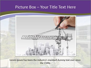 Big modern building PowerPoint Template - Slide 16
