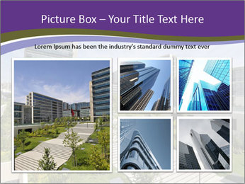 Big modern building PowerPoint Template - Slide 19