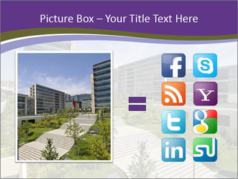Big modern building PowerPoint Template - Slide 21