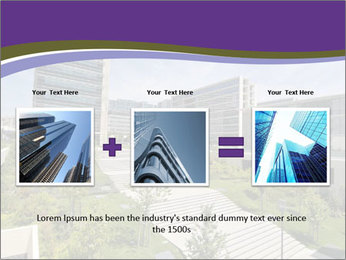 Big modern building PowerPoint Template - Slide 22