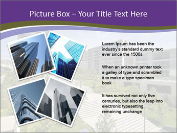 Big modern building PowerPoint Template - Slide 23