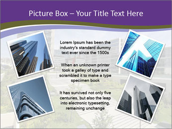 Big modern building PowerPoint Template - Slide 24