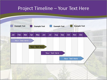 Big modern building PowerPoint Template - Slide 25