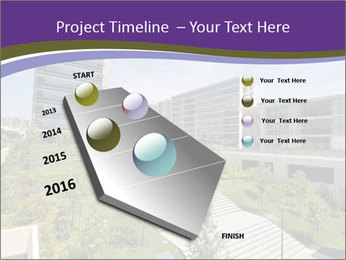 Big modern building PowerPoint Template - Slide 26