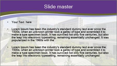 Big modern building PowerPoint Template - Slide 2