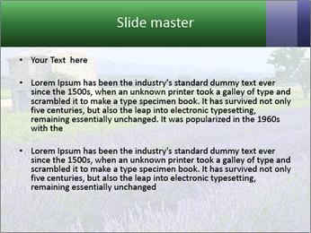 Nice lavender PowerPoint Template - Slide 2