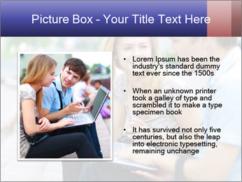 Friends using laptop PowerPoint Templates - Slide 13
