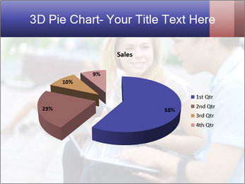 Friends using laptop PowerPoint Templates - Slide 35