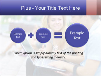Friends using laptop PowerPoint Templates - Slide 75