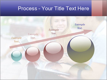 Friends using laptop PowerPoint Templates - Slide 87
