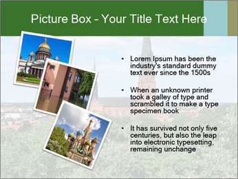 View of the Uppsala PowerPoint Template - Slide 17