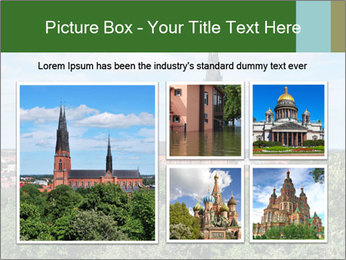 View of the Uppsala PowerPoint Template - Slide 19