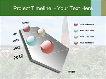 View of the Uppsala PowerPoint Template - Slide 26
