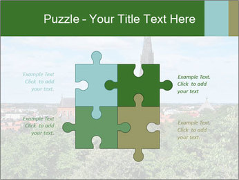 View of the Uppsala PowerPoint Template - Slide 43