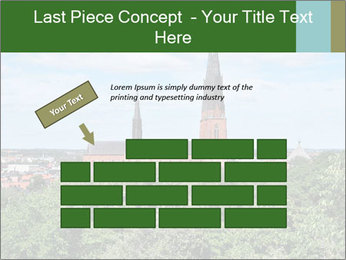 View of the Uppsala PowerPoint Template - Slide 46