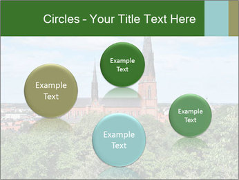 View of the Uppsala PowerPoint Template - Slide 77
