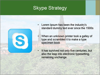 View of the Uppsala PowerPoint Template - Slide 8