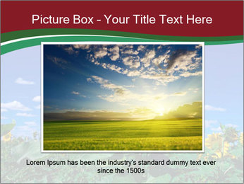 Sunflowers PowerPoint Template - Slide 15