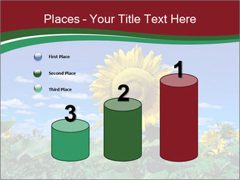 Sunflowers PowerPoint Template - Slide 65