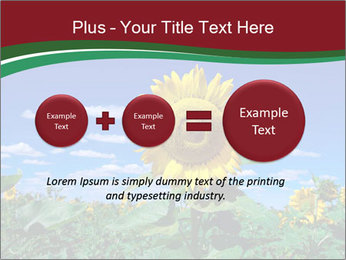 Sunflowers PowerPoint Template - Slide 75