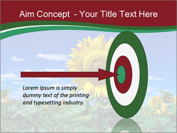 Sunflowers PowerPoint Template - Slide 83