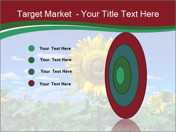 Sunflowers PowerPoint Template - Slide 84