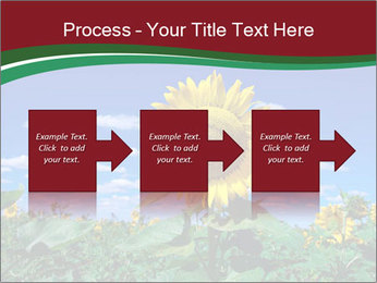 Sunflowers PowerPoint Template - Slide 88