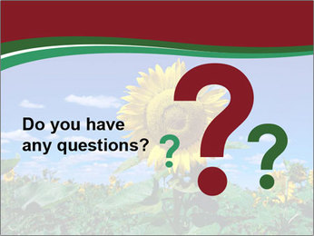Sunflowers PowerPoint Template - Slide 96