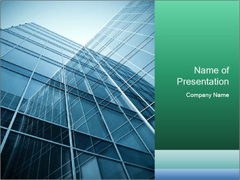 Modern glass PowerPoint Template