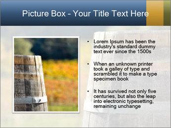 Wine Barrel PowerPoint Template - Slide 13