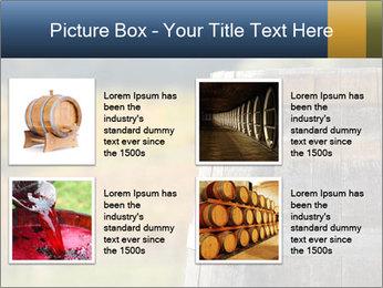 Wine Barrel PowerPoint Template - Slide 14