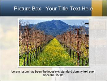 Wine Barrel PowerPoint Template - Slide 15