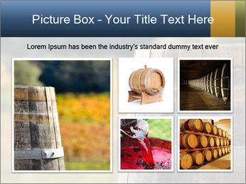 Wine Barrel PowerPoint Template - Slide 19